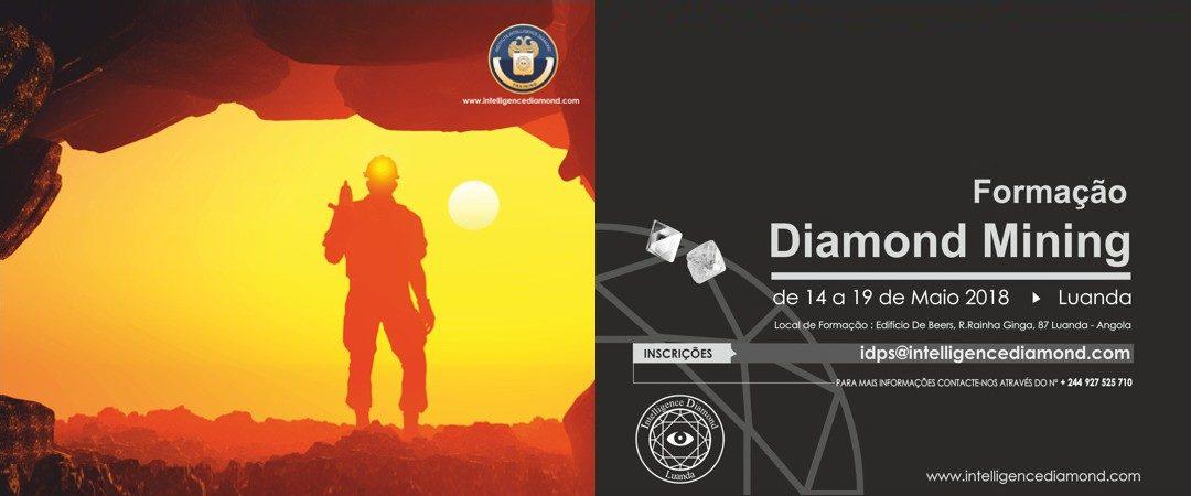 Formação Diamond Mining de 14 a 19 de Maio 2018