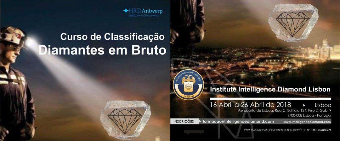Formação Classificação Diamantes em Bruto de 16 a 26 de Abril 2018