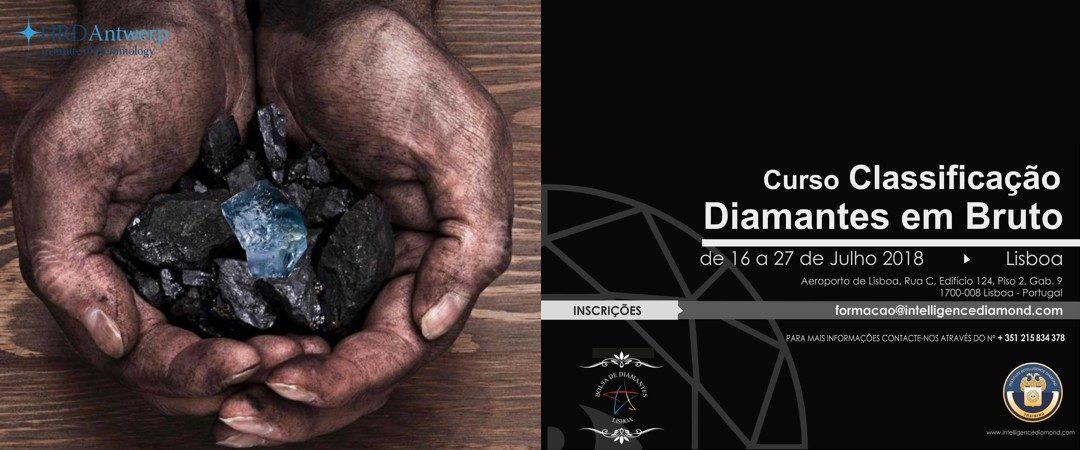 Formação Classificação Diamantes em Bruto de 16 a 27 de Julho 2018